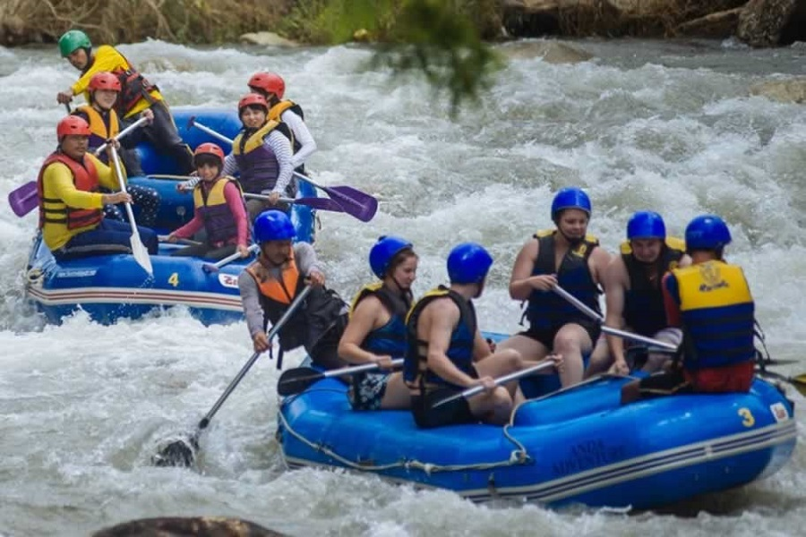 Rafting + Monkey Cave & Flying Fox