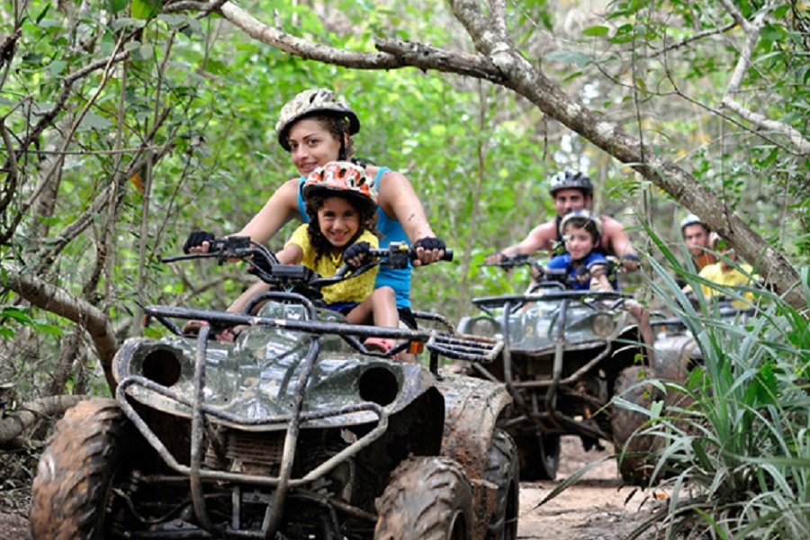 Rafting + ATV + Fish Spa
