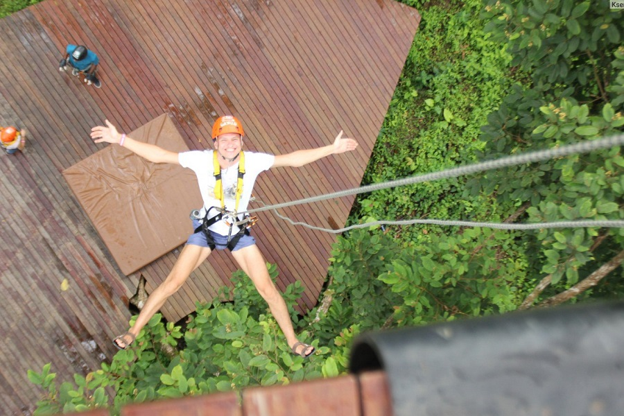 Phuket Hanuman World B Zipline Tour 16 Platforms + Sky Walk