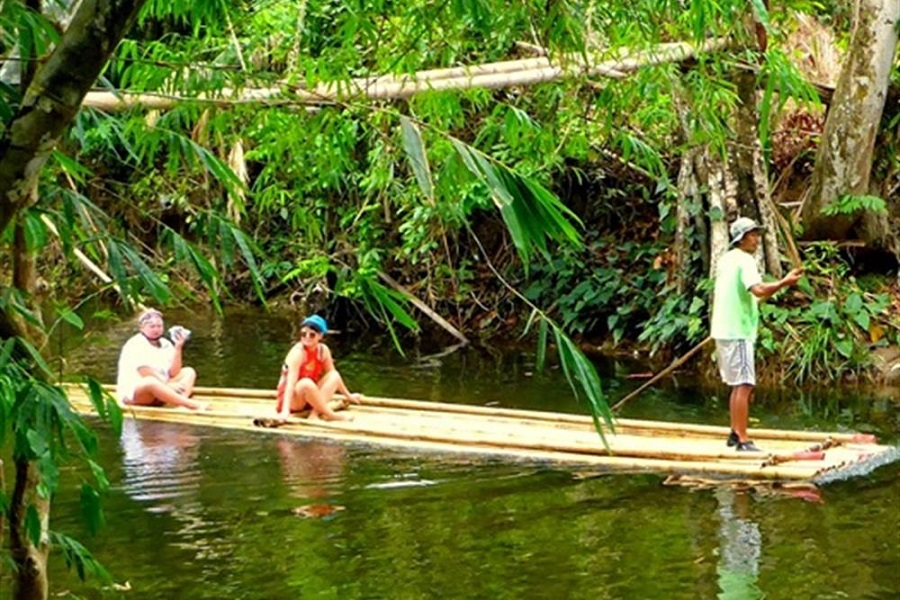 Khao Lak Safari + Bamboo Rafting + Elephant Riding Full Day Tour